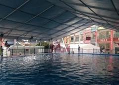 戶外游泳館遮陽棚