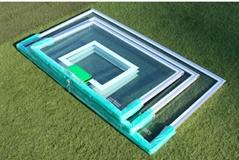 Tempered glass basket backboard