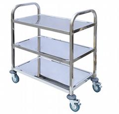 Hotel food trolley plastic restaurant cart