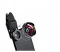 2018 dslr 2 in 1 cell phone AK034 camera lens kit for latest 5g mobile phone