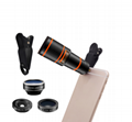 Latest gadgets 2018 cell phone spare parts camera 12X telephoto telescope zoom 4
