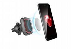 air vent car phone holder 360 rotation strong magnetic car mount