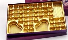 高档巧克力礼品盒吸塑托盘 厂家直销