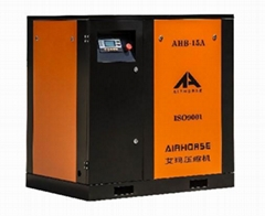 Specification 11KW 15HP Belt Driven Screw Air Compressor Price From AIRHORSE