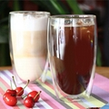 Double Wall Glass Mugs Coffee Cup For Kitchen Dining Bar Office Home School 3