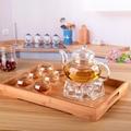Borosilicate Glass Tea Pot Set Filtering with six cups 4