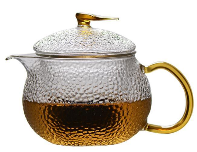 Clear Glass Teapot With Lid & Infuser Tea Mug Gongfu Tea 230ml 7.8 oz 4
