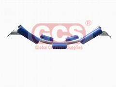 Material Handling Idler Roller Frame Bracket