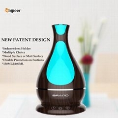 2018 New Ultrasonic Aromatherapy Essential Oil Diffuser 400ml