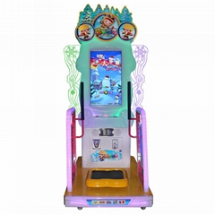 Wholesale Coin Operated Cheap Skiing Sports Video Games Machine For Sale