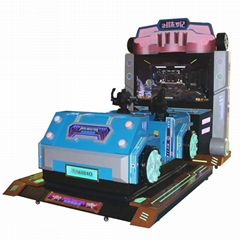 3D Indoor Amusement Shooting Arcade Coin Operated Game Machine