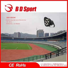 500W COB/SMD LED sports stadium flood from BDSport with CE ROHS