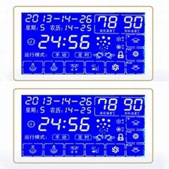 HTN负显全透LCD液晶显示段码屏面板