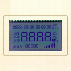 灰膜STN LCD液晶段码屏面板