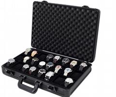 Aluminum Watch Case Watches Display Handle Briefcase