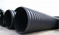 湖南贛南管業HDPE鋼帶增強螺旋波紋管