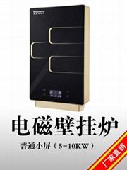 小功率5KW壁挂式家用变频电磁采暖炉