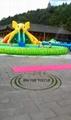 移動式大象充氣滑梯水上樂園 3