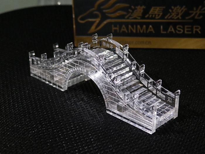 漢馬激光1060亞克力激光切割雕刻機 2