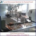 Tunnel Belt Packed Food Sterilizer
