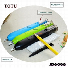 Fashion Automatic Portable Rubber Pencil Electric Eraser
