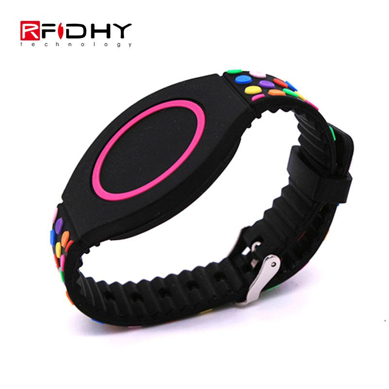 RFID silicone watch wristband 1