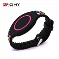 RFID silicone watch wristband