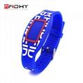 RFID silicone watch wristband 2
