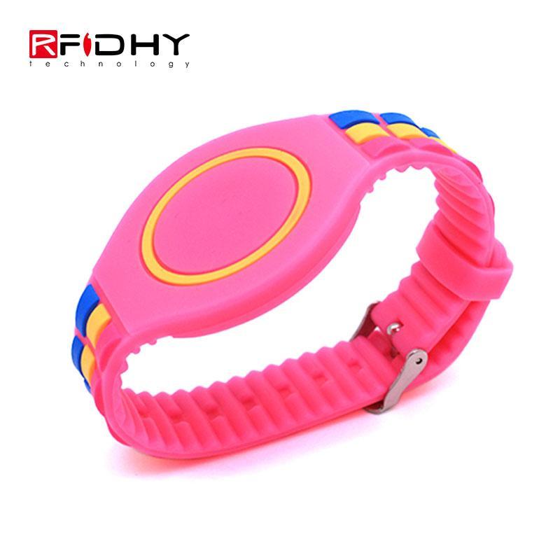 RFID silicone watch wristband 4