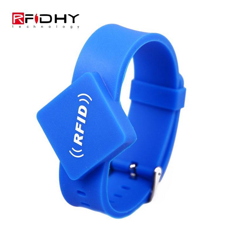 RFID silicone watch wristband 5