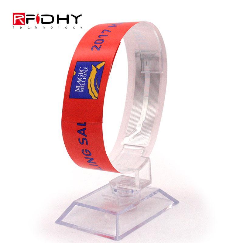 RFID paper wristband 1
