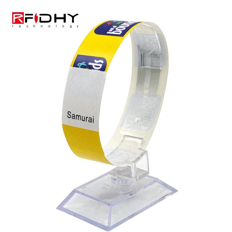 RFID paper wristband 2