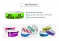 RFID paper wristband 3