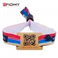 RFID fabric woven wristband 2
