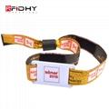 RFID fabric woven wristband 5