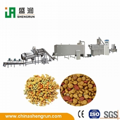 Extruded Dog Cat Food Making Extruder Plant