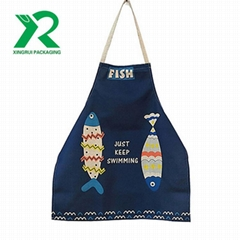 Custom Design Easy Washable Women Kitchen Cooking Aprons For Sale