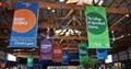 pvc blockout banner rolls gloss sign board design samples for advertising