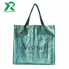 Hot Selling Eco- friendly Recycled Laminated Non Woven Shopping Bag With Custom