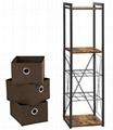Modern Industrial 3 Tier Storage Shelf Lss90wn Songmics China