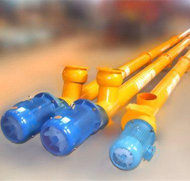 混凝土搅拌站螺旋输送泵 2