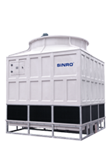 250 CMH high efficiency fiberglass cooling tower for HVAC system in low price