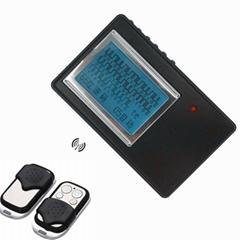 rolling code auto door opener remote control detector scanner decoding device +
