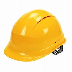 Heat Resistance ABS EN397 Round Shape Safety Helmet