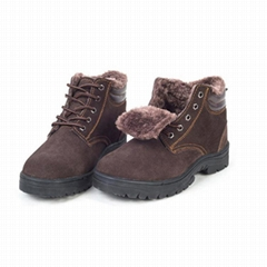 Warmly Winter Safety Shoes Steel Toe Industrial Safety Shoes Price