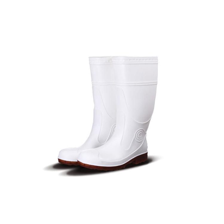 Steel Toe Safety Work Rain Boots PVC Rain Gumboots 1