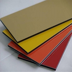 Polyester coating aluminum composite panel