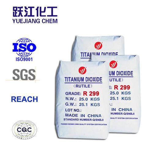 PVC profiles use R299 rutile TiO2 pigment for masterbatch and plastics 5