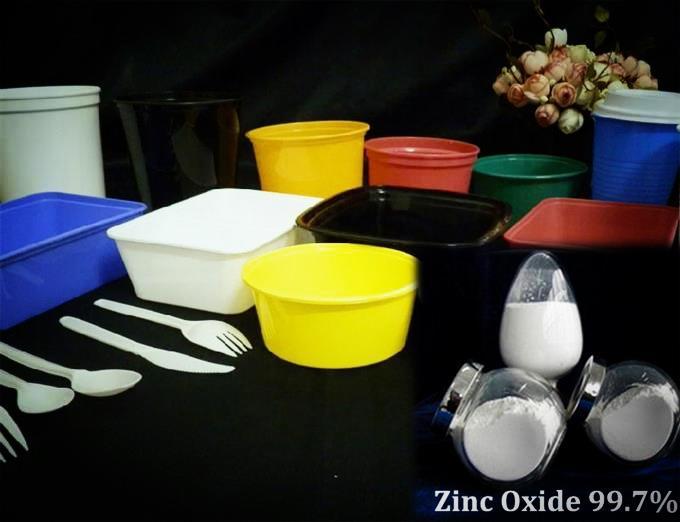 Zinc Oxide (99.7%) Bright white with high grade 3