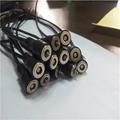 供应移动电源2P磁力充电线 吸附式直头磁吸线对吸接头端子线 2